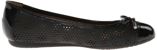 Geox D LOLA B - Cerrado de cuero mujer negro - Schwarz (BLACK C9999)