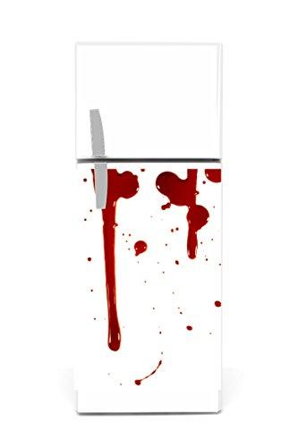 Réfrigérateur Autocollants 60x 90cm sang
