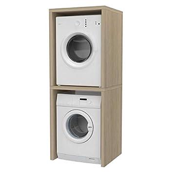 Colonna coprilavatrice e asciugatrice for Asciugatrice sopra lavatrice kit ikea