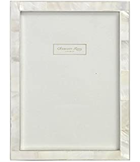 addison ross shell photo frame 8x10 mother of pearl silver 8