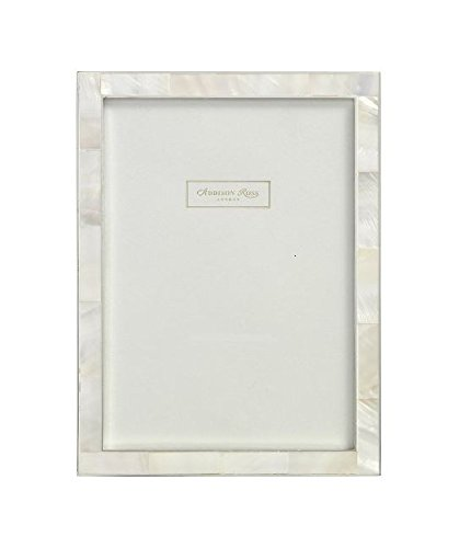 - Addison Ross, Shell Photo Frame, 8x10, Mother of Pearl & Silver, 8 x 10 Inches