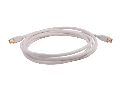 Nippon Labs MINIDP-6-MM 6-Feet Mini Display Port to Mini Display Port M/M Cable, White