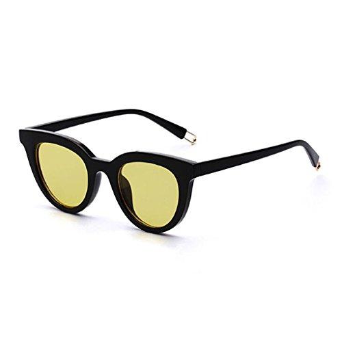 QZ HOME Sunglasses Mirror Cat Glasses Harajuku Style Fashion Beach Anti-UV (Color : 3)