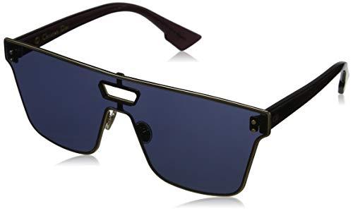 Dior DIORIZON 1 Gold Burgundy/Blue 99/1/145 Women Sunglasses (Dior Sonnenbrillen Männer)