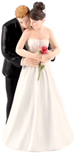 - Yes to the Rose Bride and Groom Couple Figurine