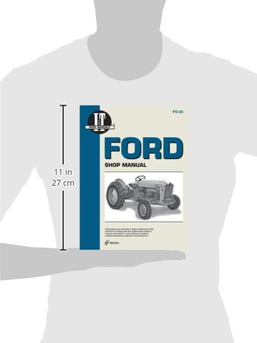 Ford Shop Manual Series 501 600 601 700 701 Fo 20