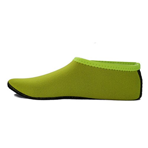 XXL socks swimming diving sock TYBUO Scuba fluorescent yellow socks beach shoes Sox shoes CvqZ8Xxw