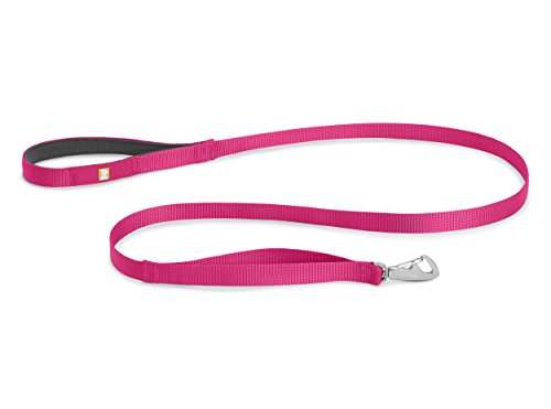 Ruffwear Front Range Lightweight, Durable Dog Leash, Wild Berry (Berry Range)