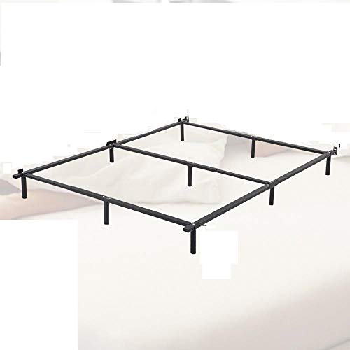 Azamon Bed Frame Metal Platform Bed Base Mattress Foundation Adjustable Heavy Duty Upholstered Full Twin Queen Size