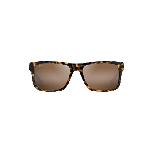 - Maui Jim Chee Hoo H765-57 | Polarized Tortoise with White and Blue Classic Frame Sunglasses, HCL Bronze Lenses, with with Patented PolarizedPlus2 Lens Technology