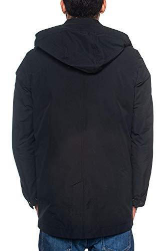 Uomo Coat Giaccone Da Nero Woolrich Stag wYTIqF1