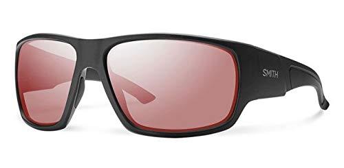 Smith Optics Elite Dragstrip Carbonic Elite Ballistic Sunglasses, Matte Black, ()