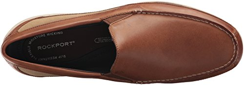 Rockport Men's Aiden Panel Venetian Shoe Caramel clearance footaction kQJlLfi