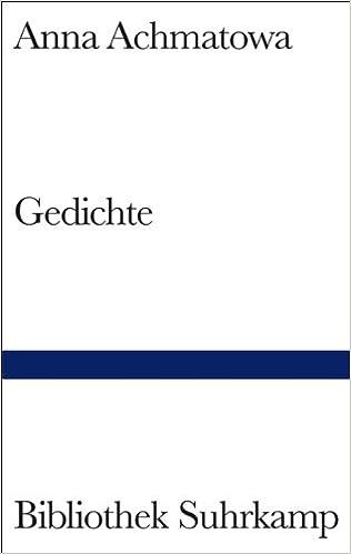 Gedichte German Edition Anna Achmatowa Heinz Czechowski