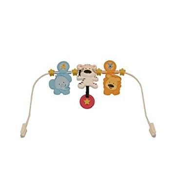8ec612207 Fisher Price Adorable Animals Bouncer V8604 Replacement Spinning Toy ...