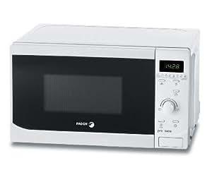 Fagor - Microondas Mo25Dgb, 800W, 20L, Congrill Simultaneo, Reloj Electronico, Programador, Blanco.
