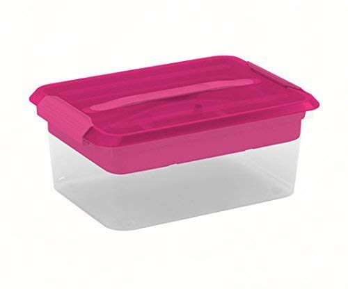 Latchmate Pink Storage Box with Tray By Recollections