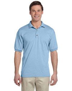 Gildan DryBlend 6 oz, 50/50 Jersey Polo. G880_LIGHT BLUE_X-Large