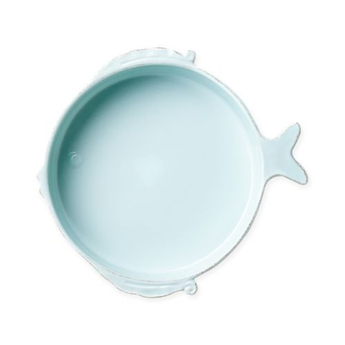 (Vietri Melamine Lastra Fish Aqua Medium Serving Bowl)