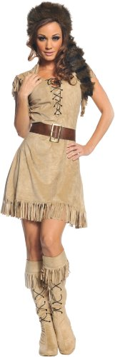 Wild Frontier Adult Costume (Brown;X-Large)