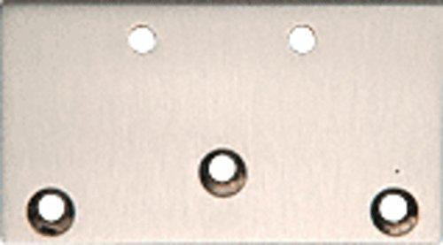 CRL Brushed Nickel Geneva Series 044 Wall Mount Plate