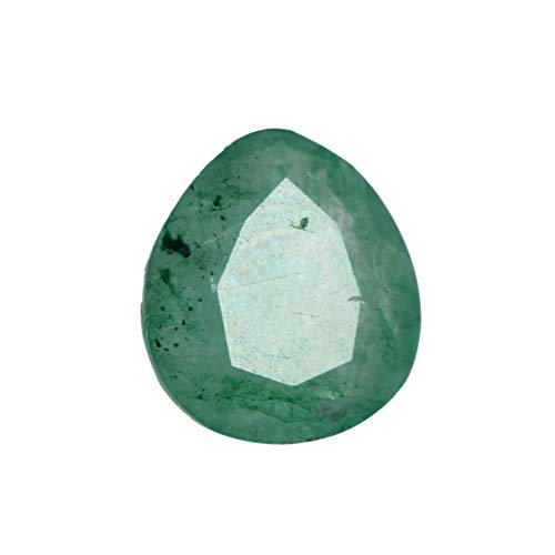 Natural Green Emerald 2.60 Carat. Egl Certified Pear Cut Jewelry Making Gemstone DX-839 ()