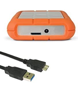 High Grade   USB 3.0 Cable For LaCie Rugged Hard Drive U2013 Length: 1m