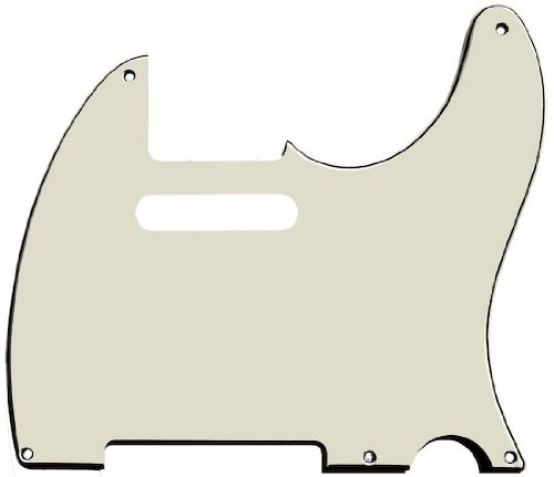 MIJ Pickguard for Telecaster '52 Mint Green 3Ply fa-pg-tl52-mg3 - Telecaster Bass Pickguard