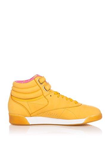 Amarillo 9 Zapatillas EU Int abotinadas Hi Nostalgia 40 REEBOK Freestyle US CgYv4