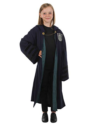 elope Fantastic Beasts: The Crimes of Grindelwald Slytherin Kids Robe One Size Blue]()