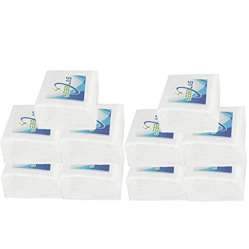 JEBBLAS Ultrasoft Dry Baby Wipes, Gentle Disposable Cleansing Cloths, Dry Wipe Great for Sensitive Skin and can be Used as Baby Washcloths, Incontinence Wipes, Makeup Wipes 240 - Baby Washcloths Cars