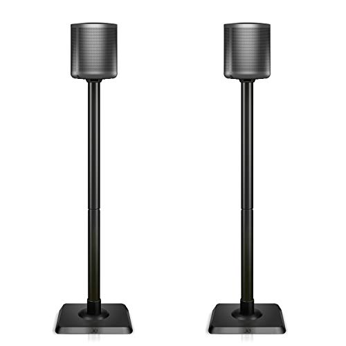(Mounting Dream Speaker Stands for Satellite & Small Bookshelf Speakers - Set of 2 Floor Stand Mount for Bose Polk JBL Sony Yamaha and Others - 11LBS Capacity MD5402 (Speakers Not Included))