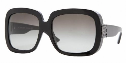 BURBERRY BE4066 300111 SHINY BLACK GRAY GRADIENT - Burberry Anniversary