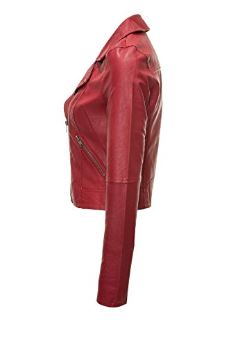 Onlvigga Giacche Donna Pelle Leather In giacca Only Scooter Faux Biker w1Xqvw6