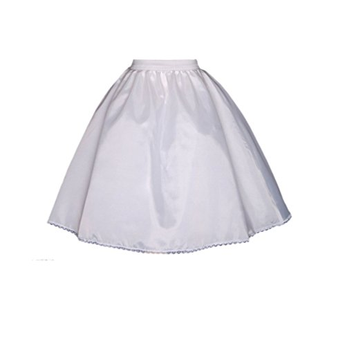 ekidsbridal Petticoat Slip Underskirt Crinoline Dress Satin for Flower Girl Dress Wedding -