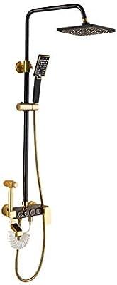 Diseño Vintage Sistema de Ducha de latón Ducha Superior Ducha de ...