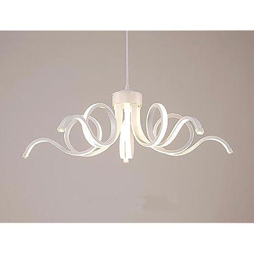 XHOPOS HOME Lampe suspension LED lumière blanche éclairage 65cm ...