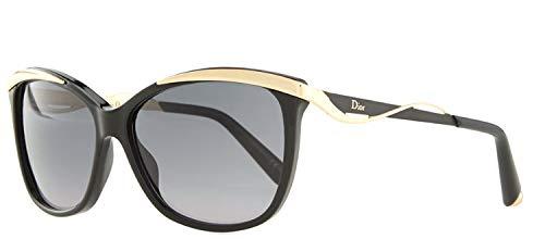 Christian Dior W-SG-3083 Christian Dior Dior Metaleyes 2-S C7VHD - Black Rose Gold Womens Sunglasses, 57-14-140 ()