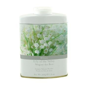Taylor of London Lily of the Valley Luxury Talcum Powder, 7.0 Oz
