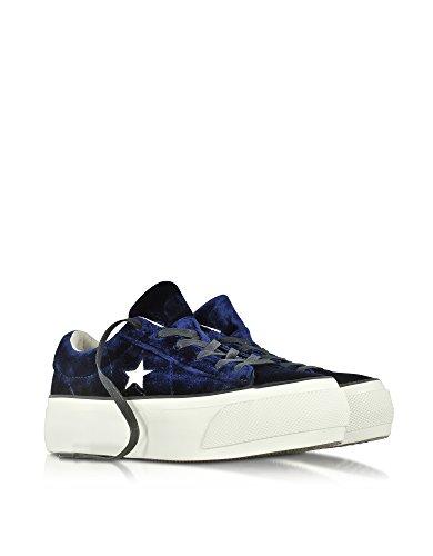 Converse Velluto Sneakers Donna 558952c Blu 8qUgw8