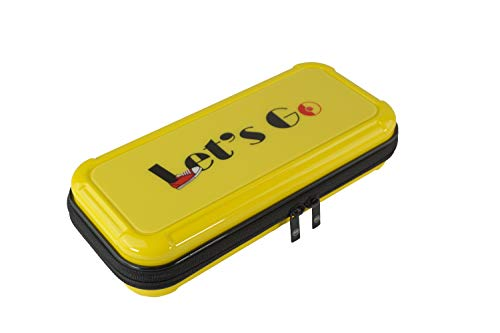 (IINE Carrying Case for Nintendo Switch Hard Shell Protective Bag,Yellow)