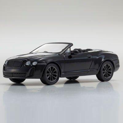 1/64 ベントレー コンチネンタル スーパースポーツ コンバーチブル(ブラック) KS07043A6
