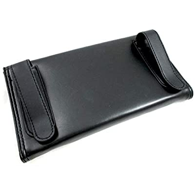 Tempo Car & Truck Black Leather Visor Tissue Case Starter Pack - Set of 2: Automotive