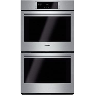 Bosch HBL8651UC 800 30 Stainless Steel Electric Double Wall Oven Convection