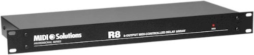 MIDI Solutions R8 8-Output MIDI Controlled Relay Array (Standard) by MIDI Solutions