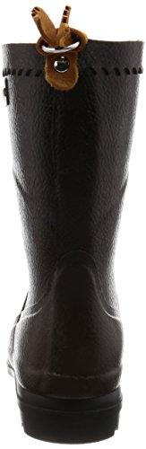 Aigle Bison Gummistiefel, Damen Halbschaft Gummistiefel, Braun (Brun 5), 39 EU