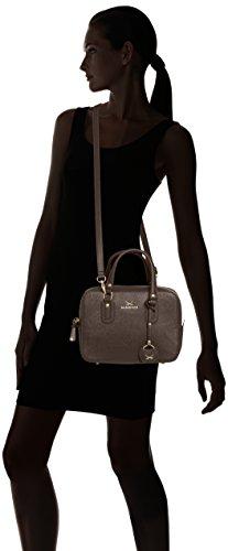 Sansibar Sansibar Chic - Bolso de mano de material sintético mujer marrón - marrón (Chocolate)