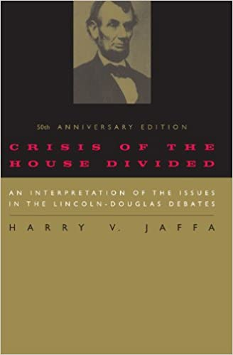 Image result for harry jaffa crisis of the house divided