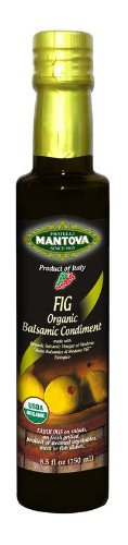 Mantova Fig Organic Balsamic Vinegar, 8.5 Pound