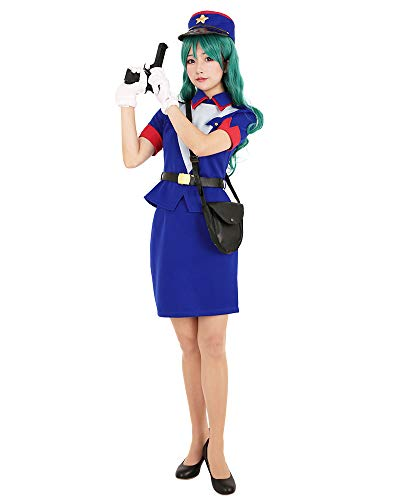(Cosplay.fm Women's Officer Jenny Cosplay Costume Uniform Outfit (M))